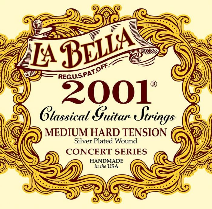 La Bella 2001MH Klassieke Gitaarsnaren Medium Hard Tension