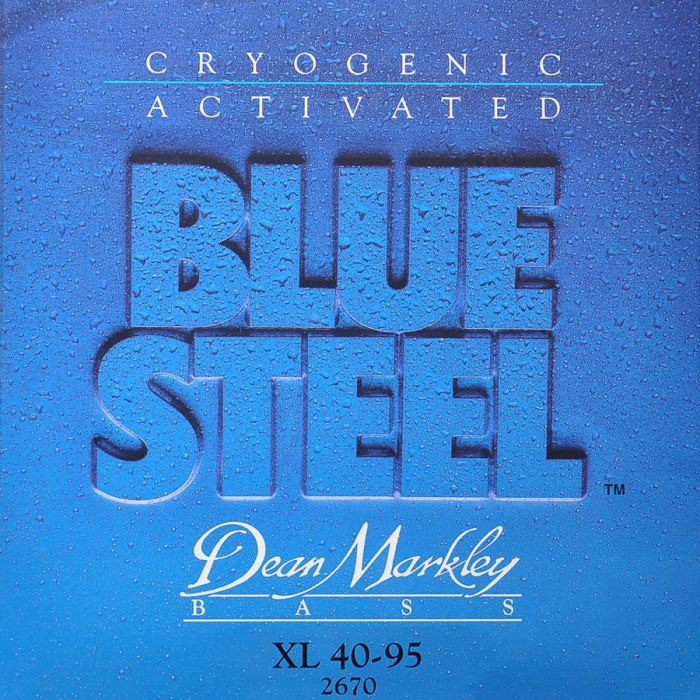 Dean Markley 2670 Blue Steel Bass .040 /.095