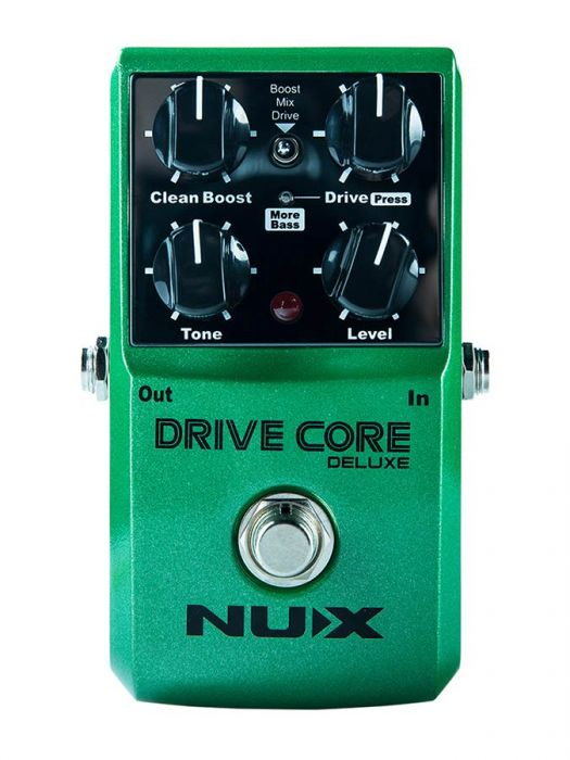 NUX Core Series overdrive pedaal DRIVE CORE DELUXE