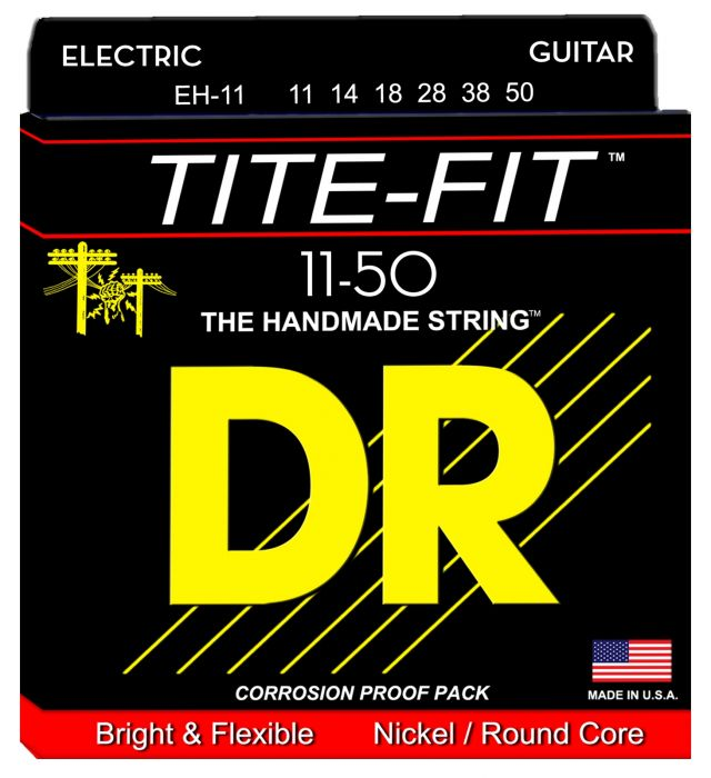DR Strings EH-11 Tite-Fit Heavy snaren .011 - .050