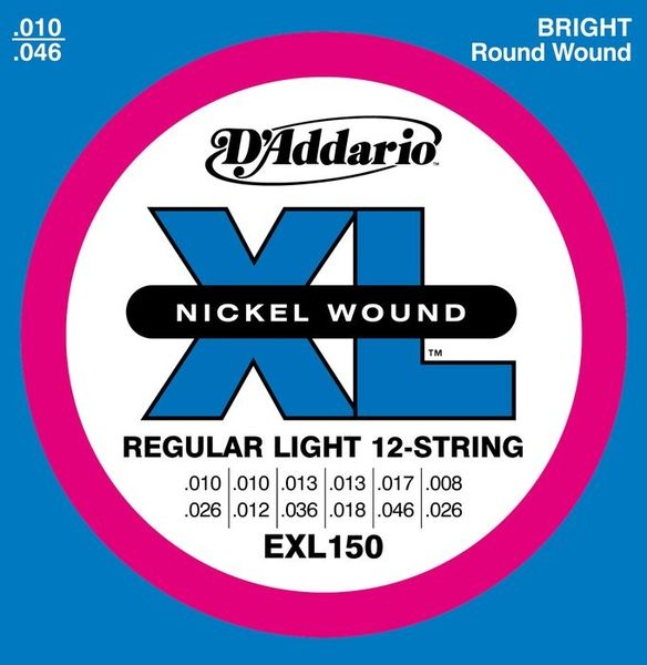 DADDARIO EXL150 REGULAR LIGHT