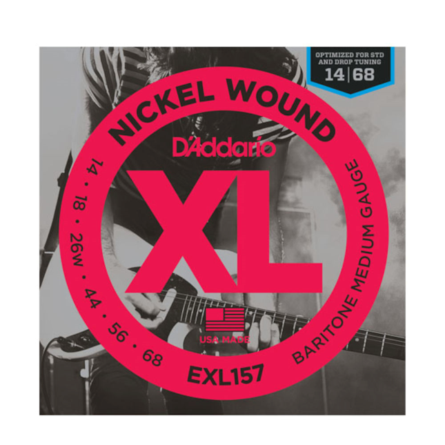 D'Addario EXL157 Baritone Guitar Strings Set