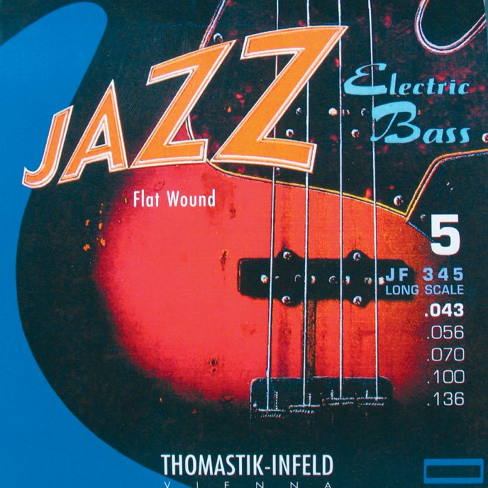 Thomastik JF345 Jazz Flatwound