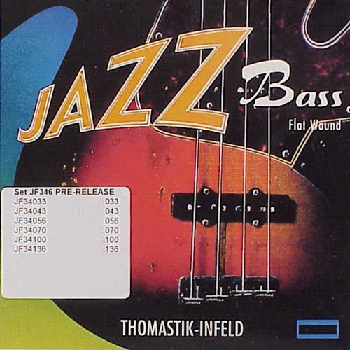 Thomastik JF346 Jazz Flatwound