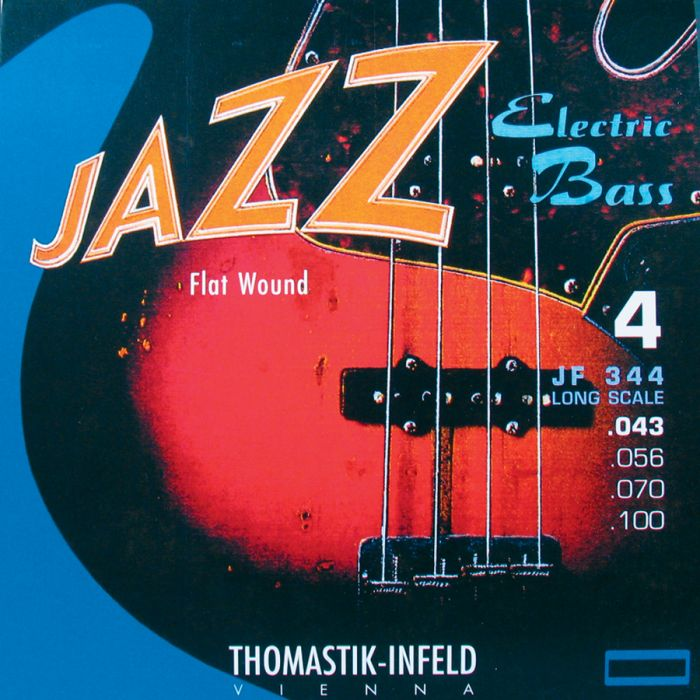 Thomastik JF344 Jazz Flatwound