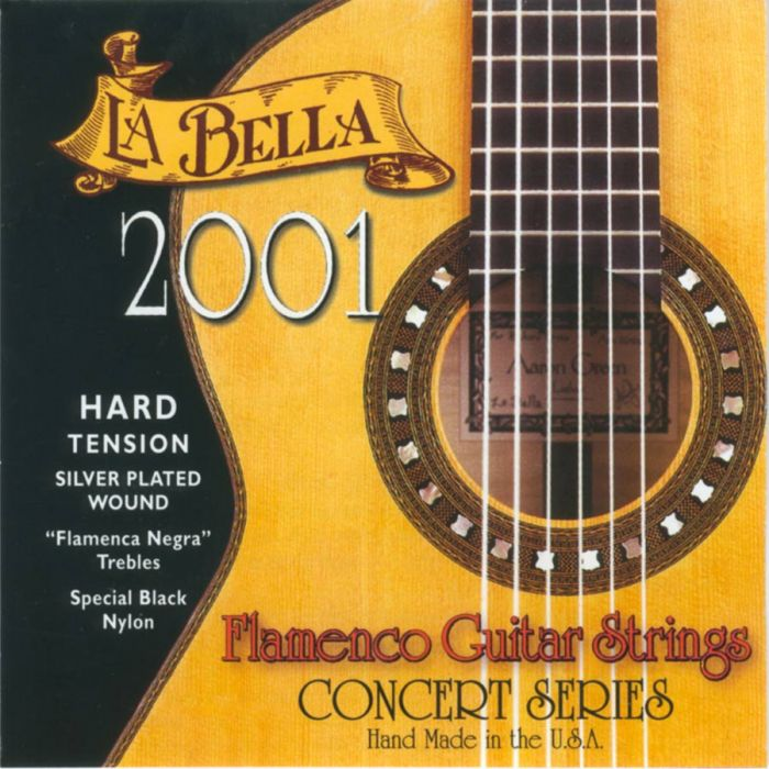 La Bella 2001FH Flamenco Hard Tension