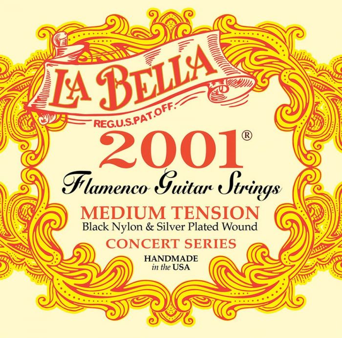 La Bella 2001FM Flamenco Medium Tension