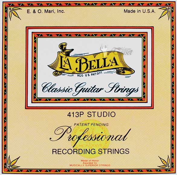 La Bella 413P Recording Strings