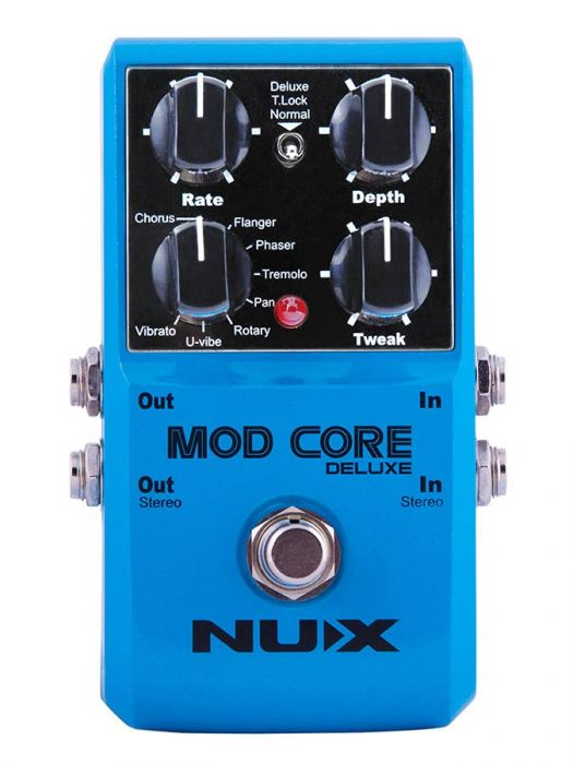 NUX Core Series Modulation pedaal MOD CORE DELUXE
