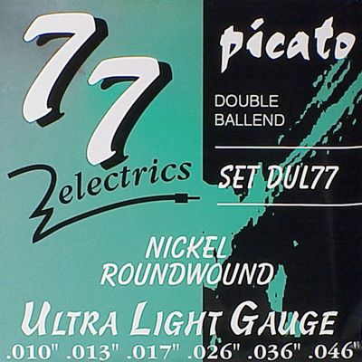 Picato-DUL-77  Ultra Light Gauge.010/.046 Electrisch ***SALE***