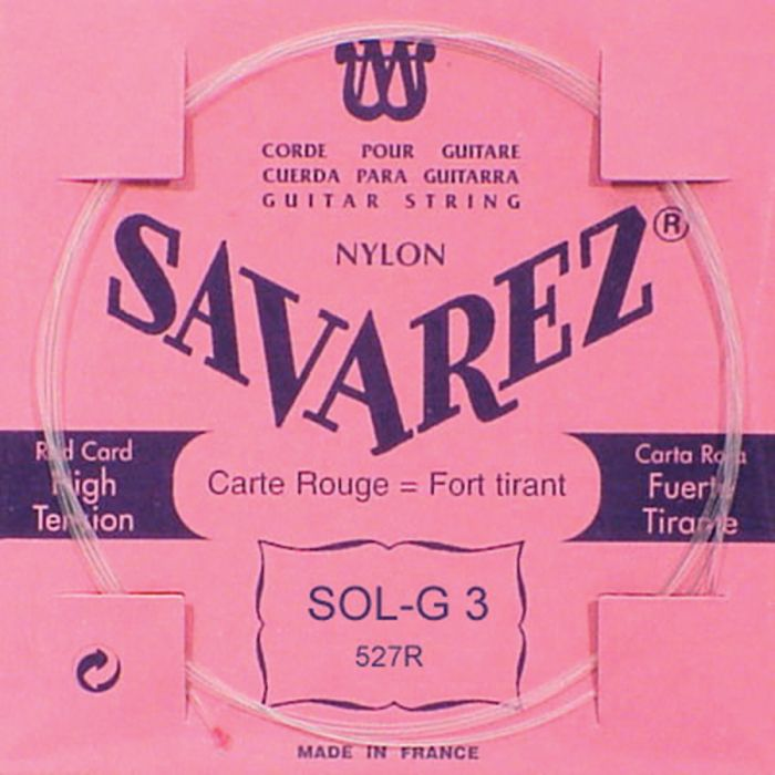 Savarez Carte Rouge Treblepack
