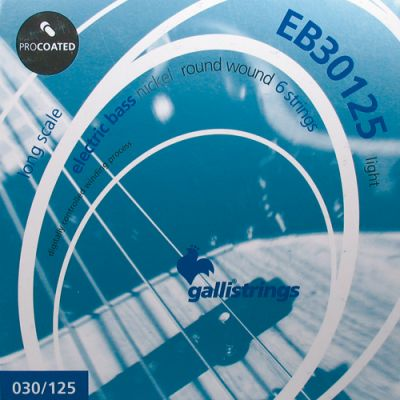 Galli EB-30125 Bassnaren Procoated 6 Strings .030/.125