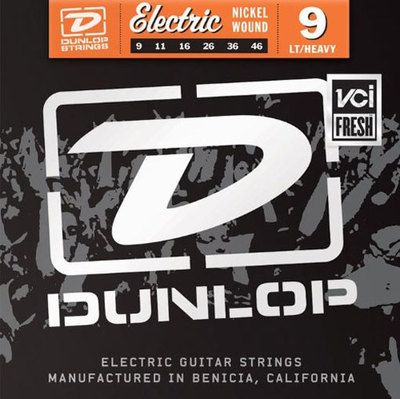 Dunlop DEN1046 Nickel Plated Steel LT/HEAVY