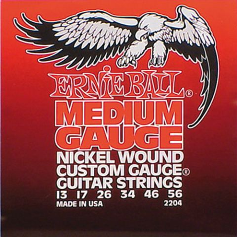 ERNIE BALL CUSTOM GAUGE EB2204